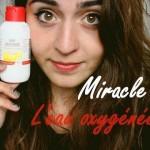 Eclaircir cheveux eau oxygénée
