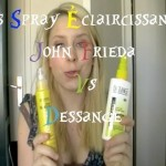 Spray éclaircissant pour les cheveux